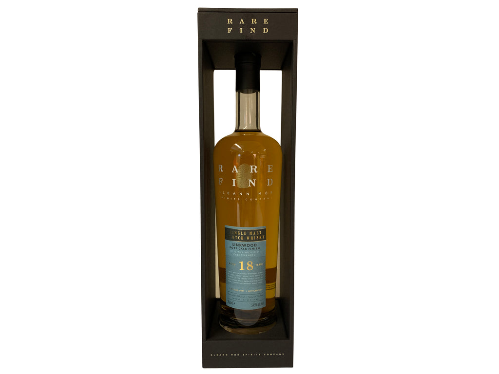Rare Find Linkwood 18 Year Old Port Cask Finish 54.5% 700ml