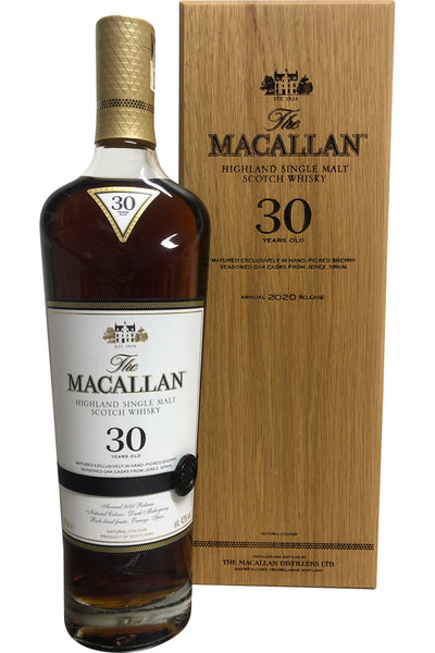 Macallan 30 Year Old Sherry Cask | 700ml 43%