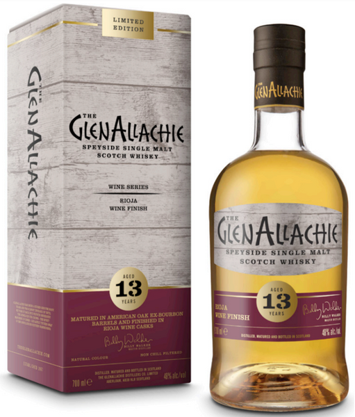 Glenallachie 13 Year Old Rioja Wine Series 48% 700ml