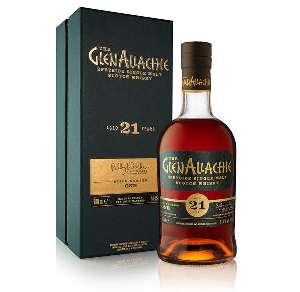 Glenallachie 21 Year Old Batch 1 | 51.4% 700ml