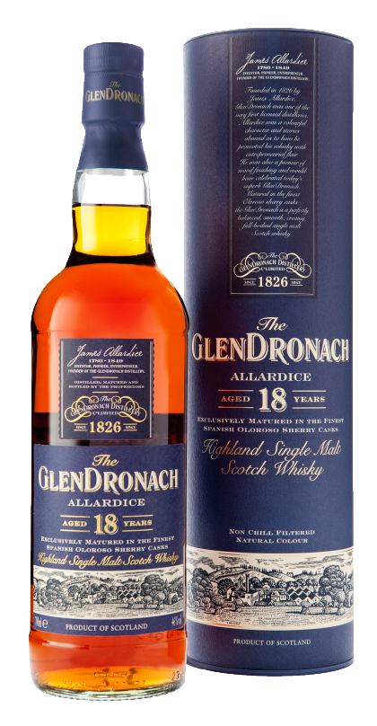 Glendronach 18 Year old |700ml 46%  Whisky