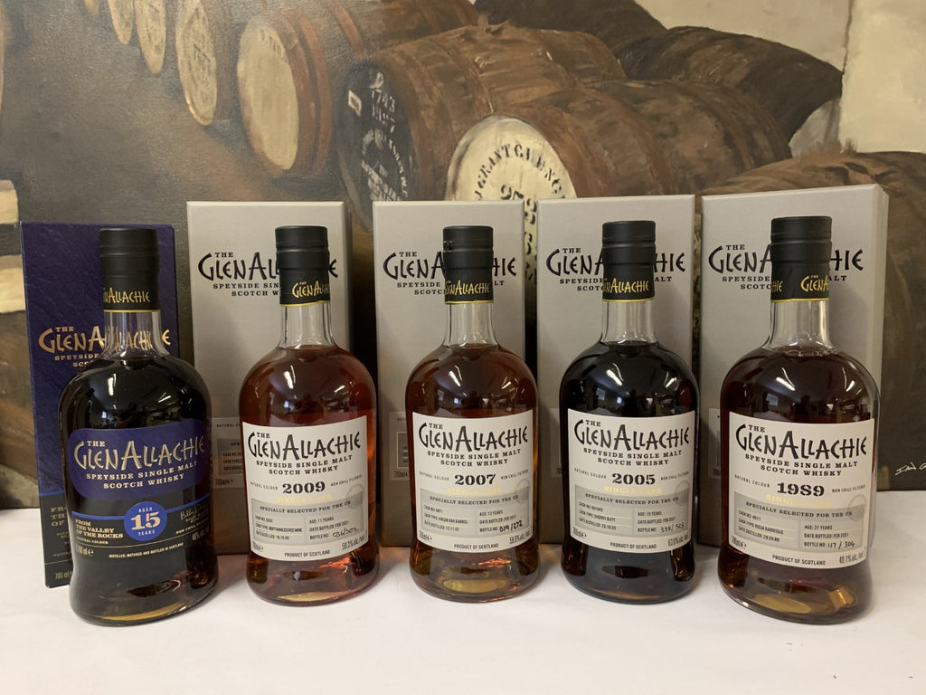 Glenallachie Single Casks - A Private Tasting 5*30ml  Whisky