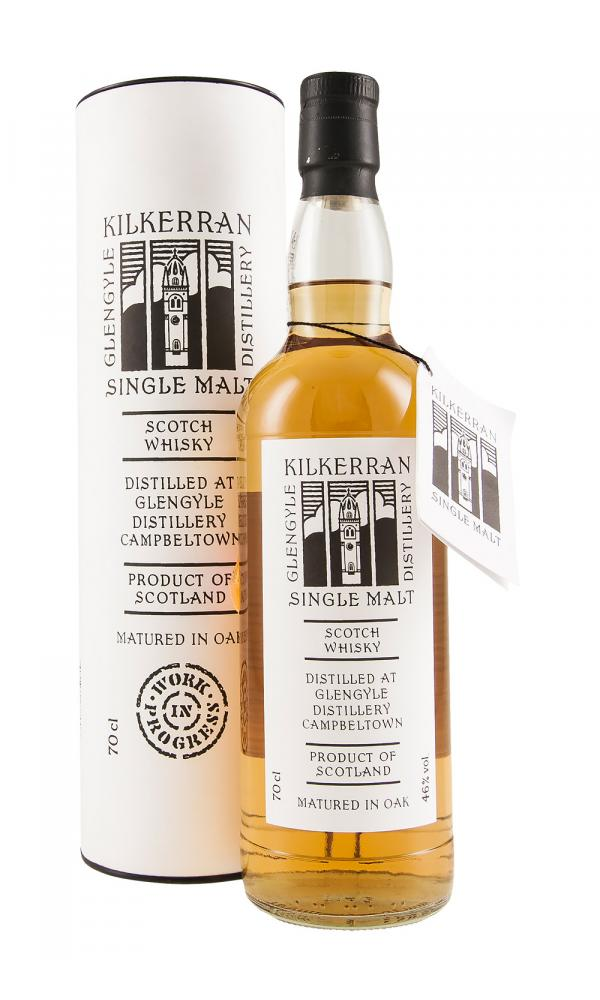 Kilkerran Work In Progress Batch 1 - 46% 700ml  Whisky