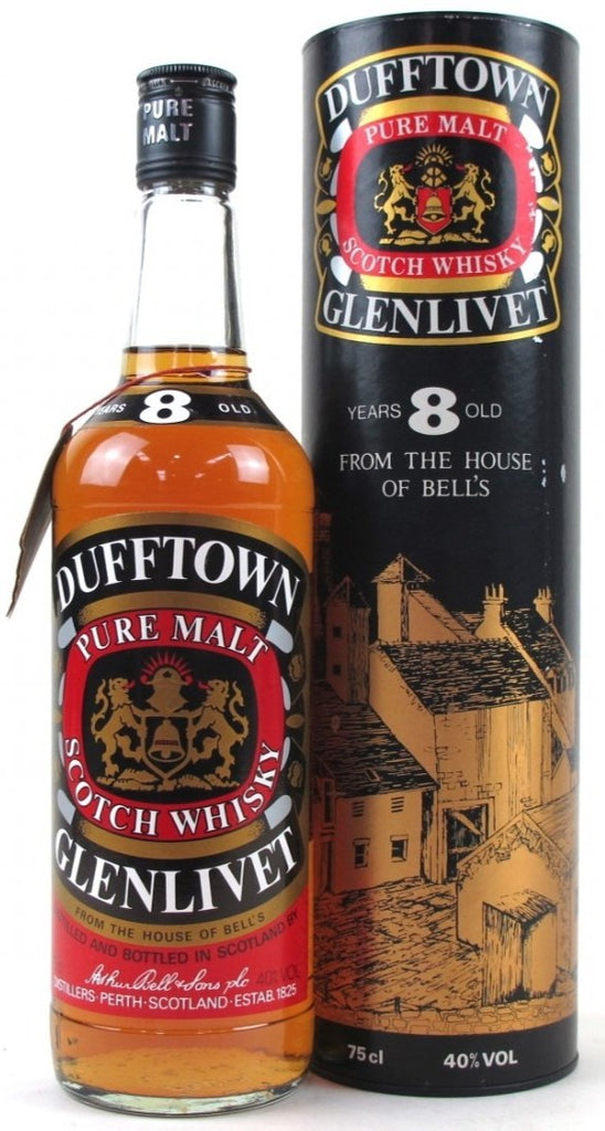 Dufftown Glenlivet 8 Years Old From the House of Bell's Whisky - 40% 750ml  Whisky