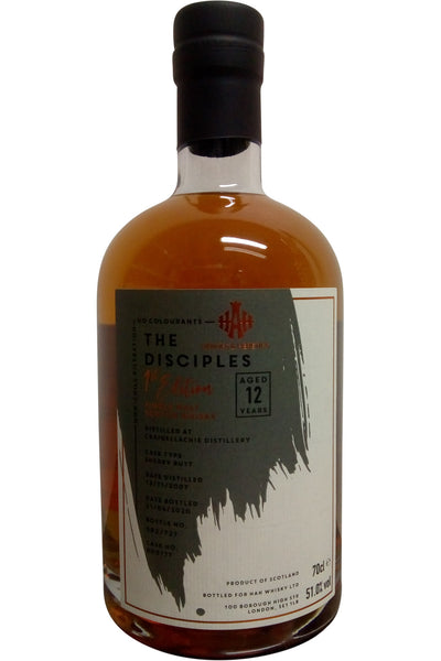 The Disciples 1st Edition 12 Year Old (craigellachie) |51.0% 700ml