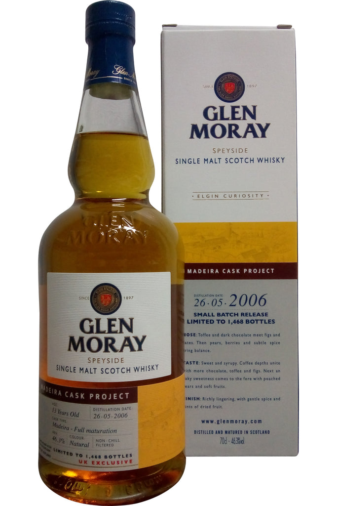 Glen Moray 2006 Madeira Cask Project | 46.3% 700ml  Whisky