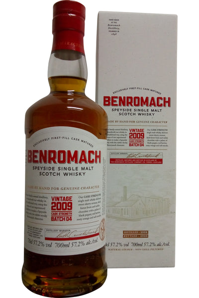 Benromach Vintage 2009 Cask Strength Batch 04 | 57.2% 700ml