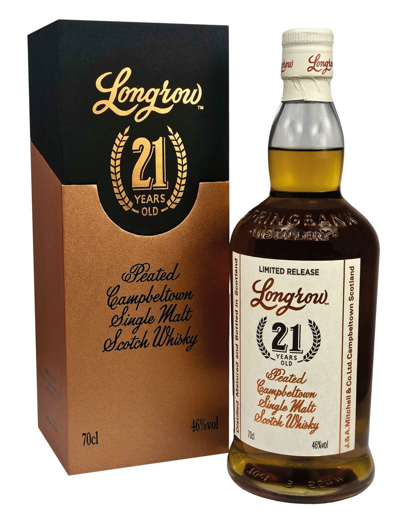 Longrow 21 Year Old 2020 | 46.0% 700ml  Whisky