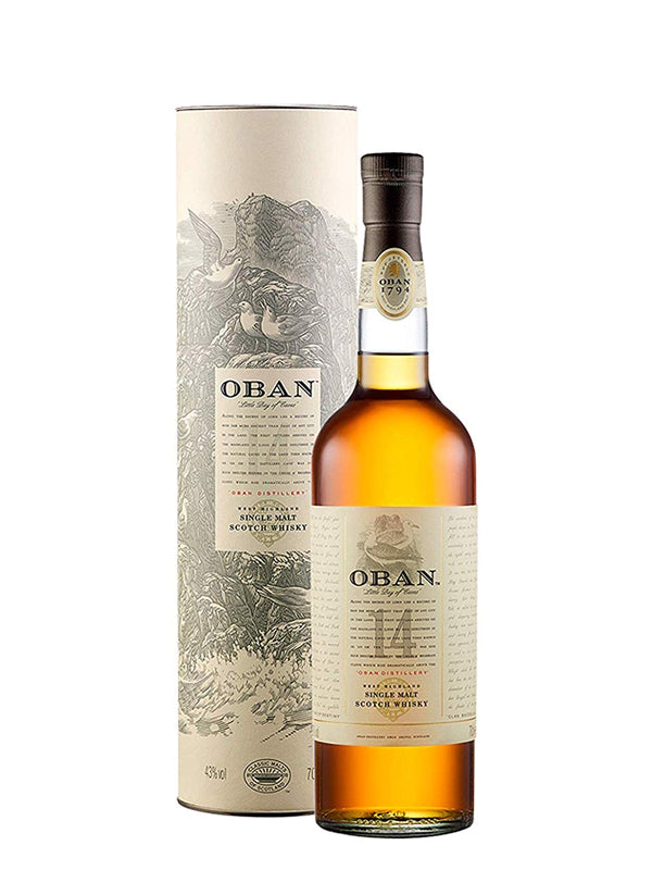 Oban 14 Year Old Whisky | 43% 700ml  Whisky