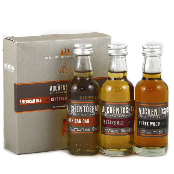 Auchentoshan Collection | 40/43% 3x50ml