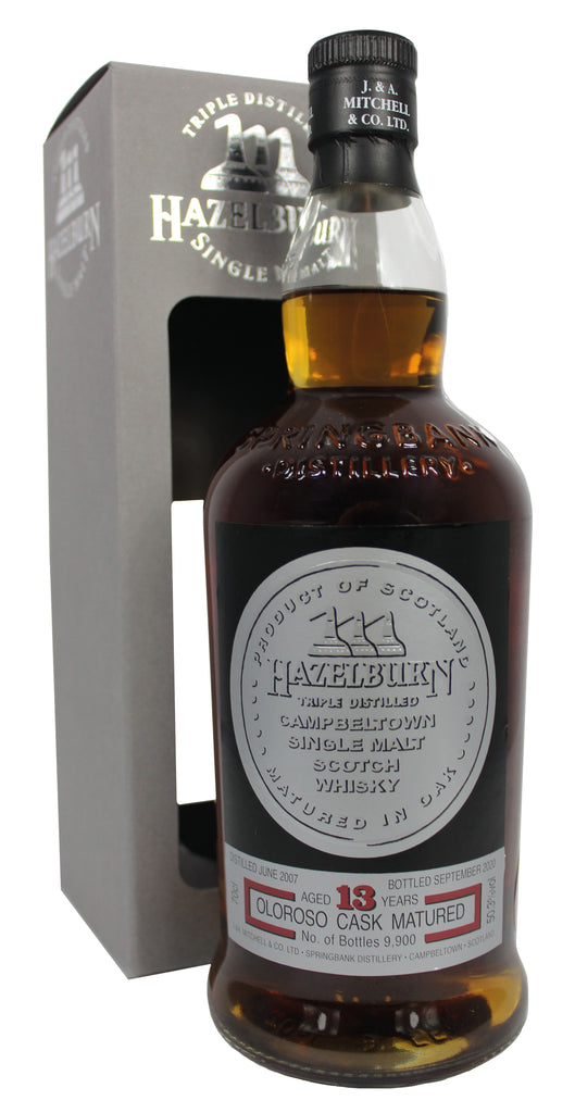 Hazelburn 13 Year Old Sherry Wood |50.3% 700ml  Whisky