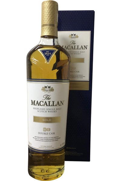 Macallan Double Cask Gold Whisky - 40% 700ml