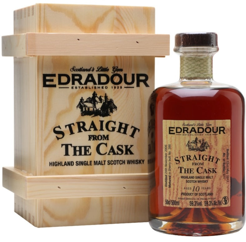 Straight From The Cask 10 Year Old (971) |59.3% 500ml  Whisky