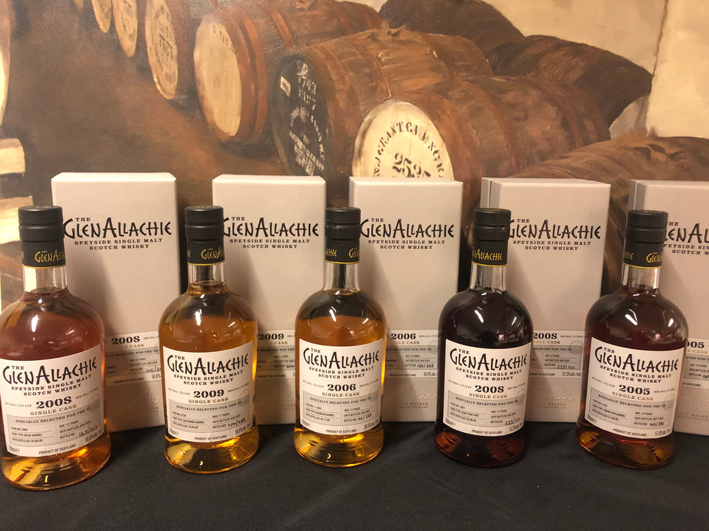 Glenallachie Single Cask Tasting Set 5*30cl