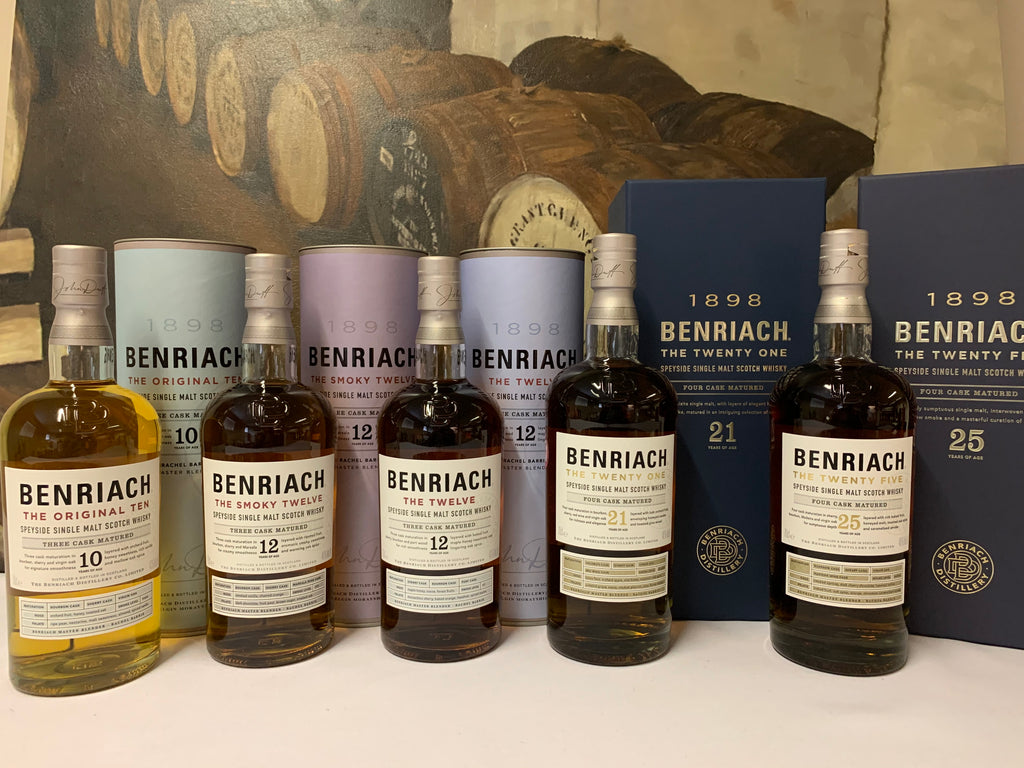 BenRiach Tasting Evening 5*30ml  Whisky