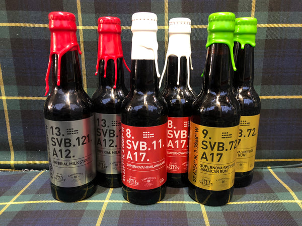 Spey Valley Beers Aged in Whisky Cask 6*330ml