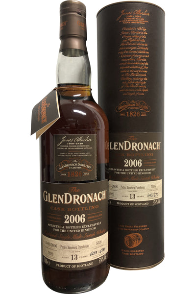 Glendronach 2006 13 Year old Cask No.5538 UK Exclusive | 57.4% 700ml