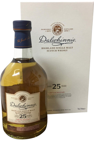 Dalwhinnie 25 Year Old Limited Edition Whisky - 48.8% 700ml