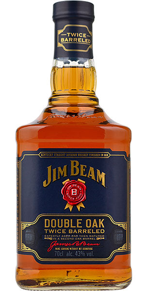 Jim Beam Double Oak - 43% 700ml  Whisky