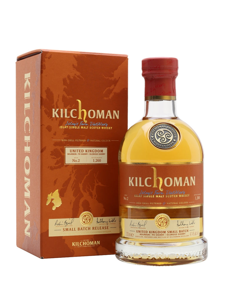 Kilchoman Small Batch No.2 47.7% 700ml