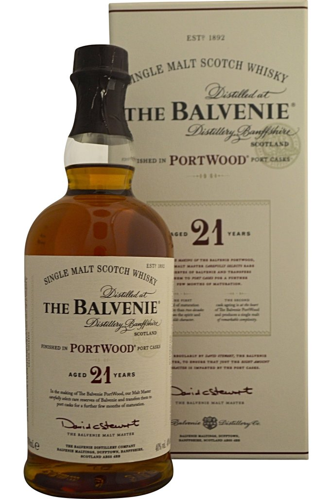 Balvenie 21 Year old portwood | 40% 700ml  Whisky