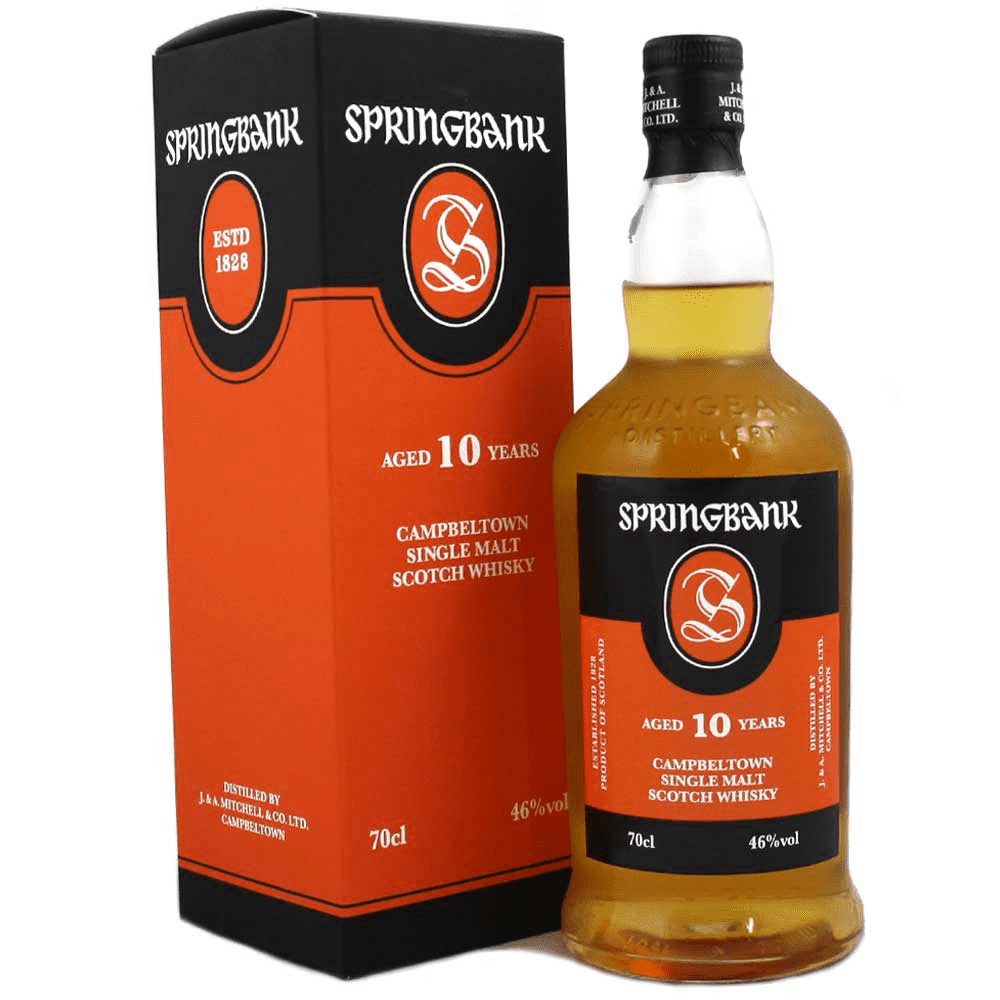 Springbank 10 Year Old | 700ml 46%  Whisky
