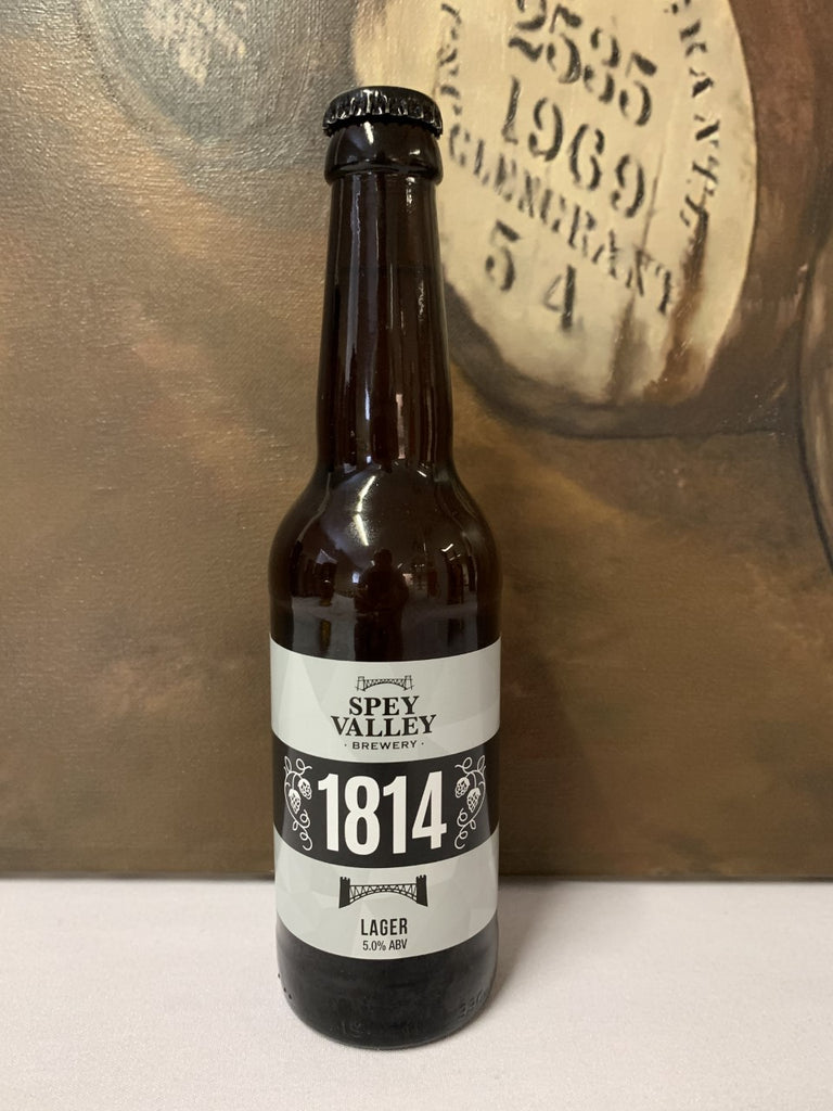 Spey Valley 1814 Lager 330ml 5.0%  Beer