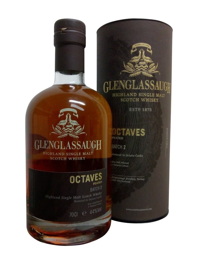 Glenglassaugh Octaves Peated  Batch 2 | 700ml 44%  Whisky