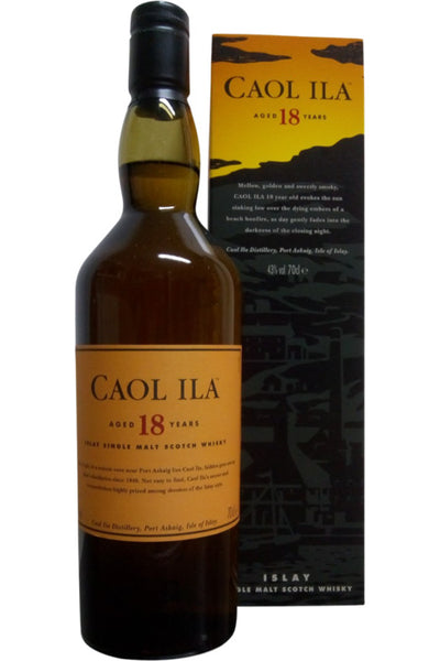 Caol Ila 18 Year old | 43.0% 700ml