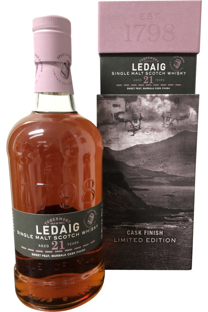 Ledaig 21 Year Old  Marsala finish | 700ml 55.8%