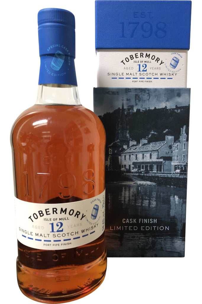 Tobermory 12 Year Old Port Pipe Finish | 700ml 58.6%