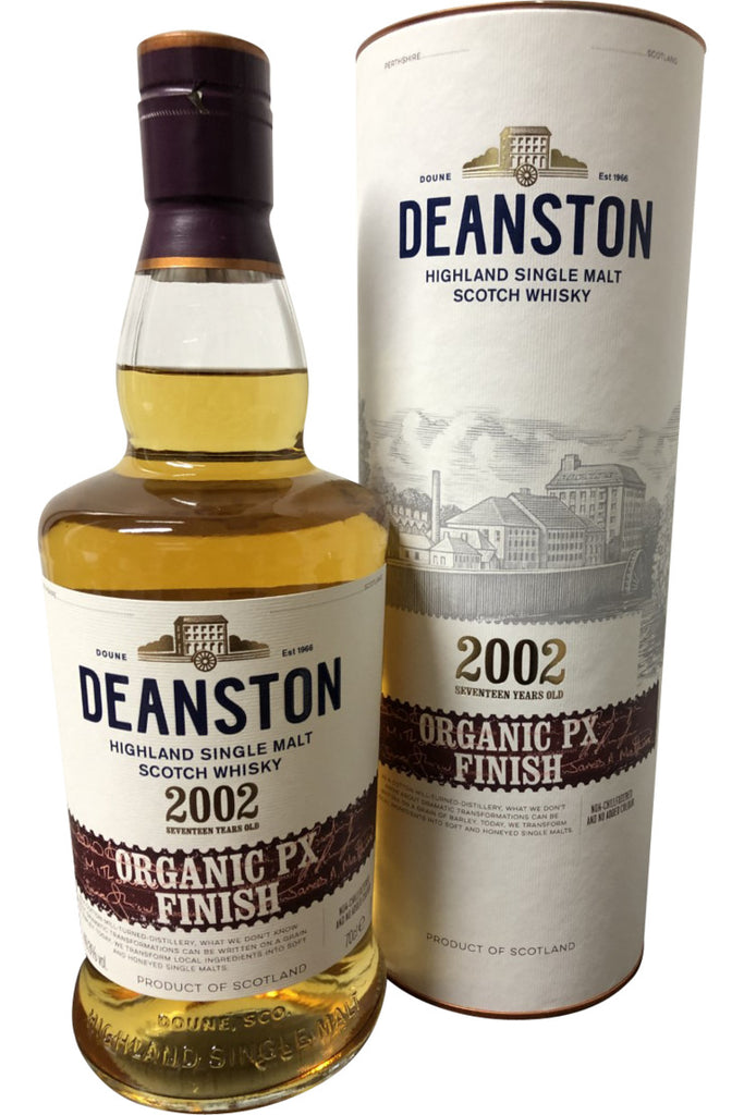 Deanston 2002 Organic PX finish | 700ml 49.3%