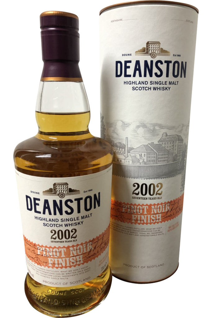 Deanston 2002 Pinot Noir Finish | 700ml 50.0%