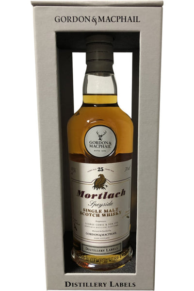 Mortlach 25 Year old  Gordon & Macphail  Distillery Label | 700ml 43%