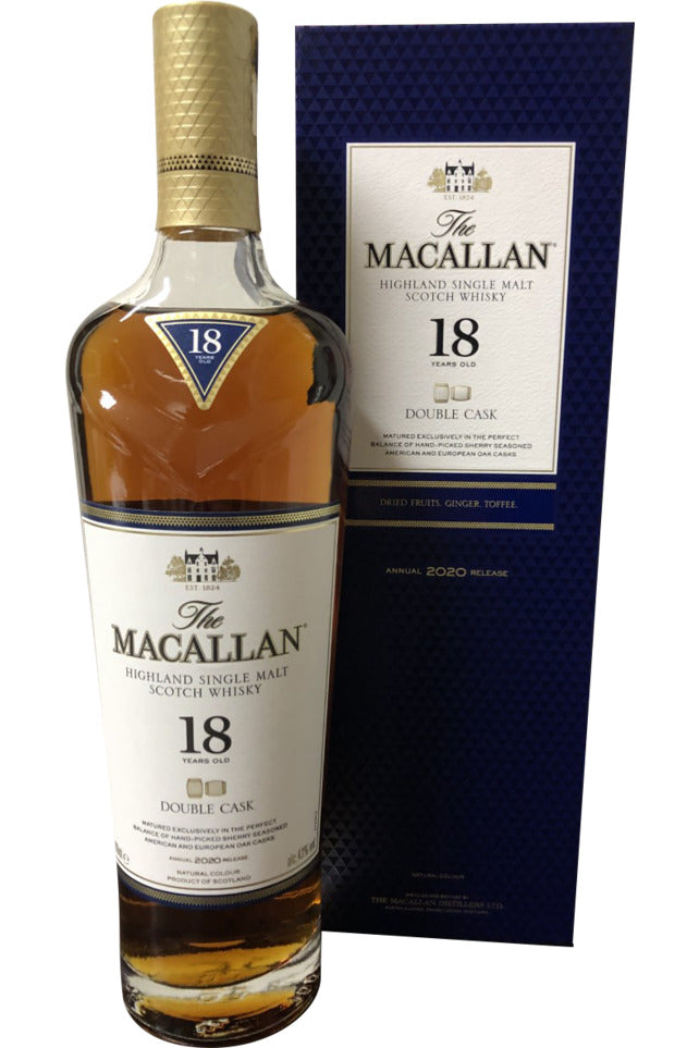 Macallan Double Cask 18 Year Old 2020 | 700ml 43.0%  Whisky