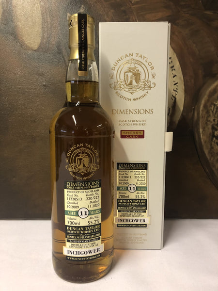 Single Cask Duncan Taylor Dimensions Tasting-5x30ml