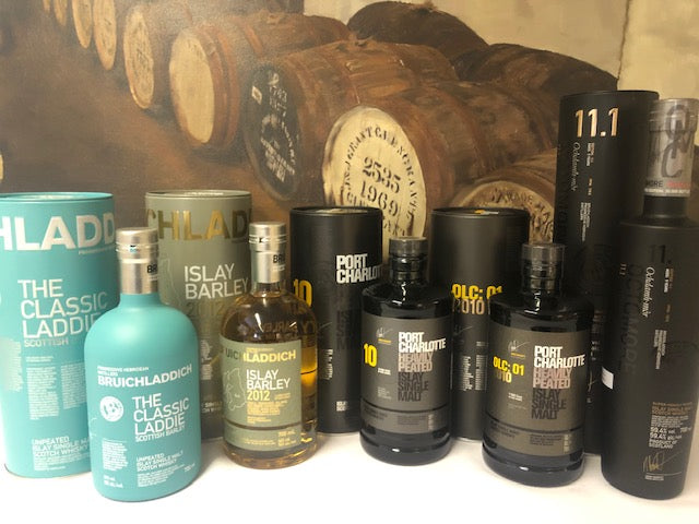 Bruichladdich Tasting Evening 5*30ml  Whisky
