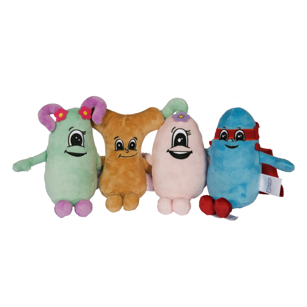 The Buddies Plushes (Set of 4)