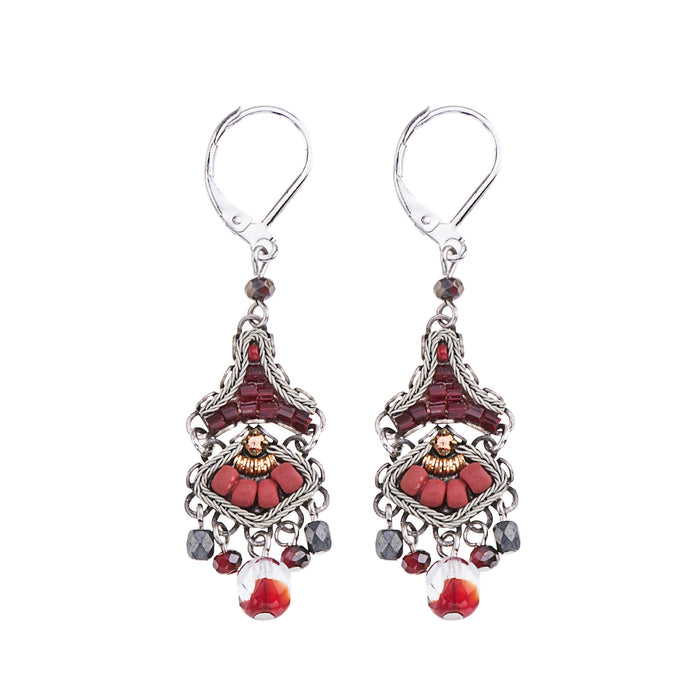 RUBY LOVE, LILA EARRINGS