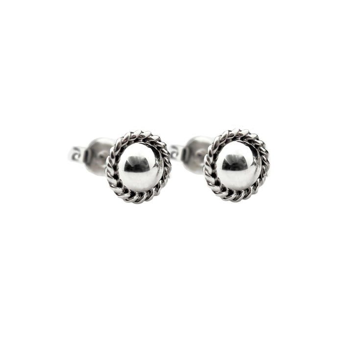 CLASSIC BRAIDED STUDS (SMALL)