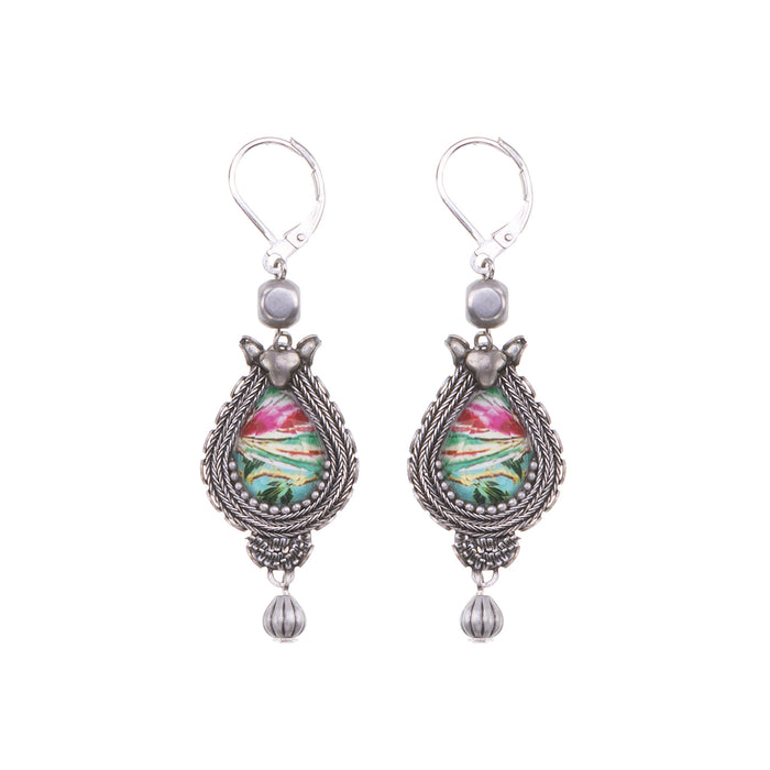 FULL MOON, AMANA EARRINGS