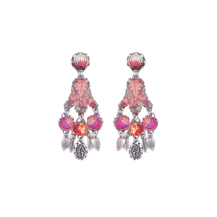 CRIMSON DREAMS, SKYE EARRINGS