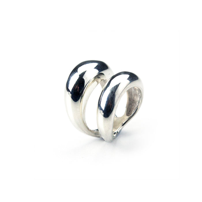 CHUNKY DOUBLE BAND RING