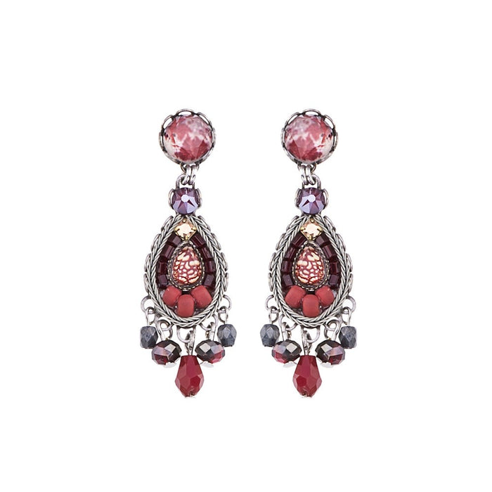 RUBY LOVE, SIVIAN EARRINGS