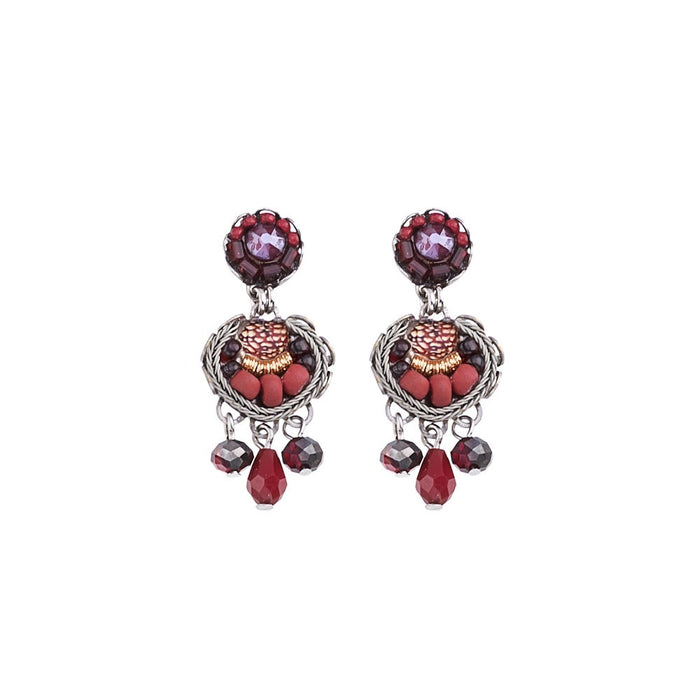 RUBY LOVE, NOA EARRINGS