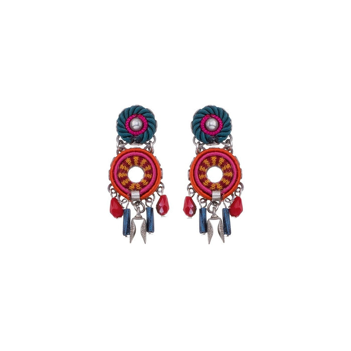 CRIMSON VOYAGE, JULIA EARRINGS