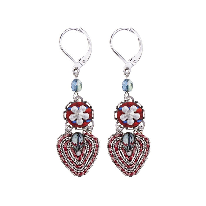 RED ROCK, ASTRO EARRINGS