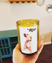 Custom Wine Bottle Candles