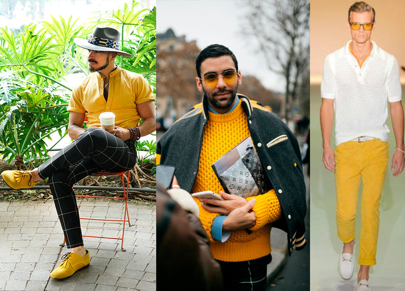 Para fans del Color Amarillo. ¡Outfits y Zapatos Amarillos!