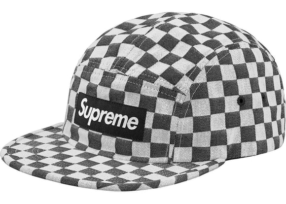 d0ef2f88eb5 Supreme Checkerboard Camp Cap